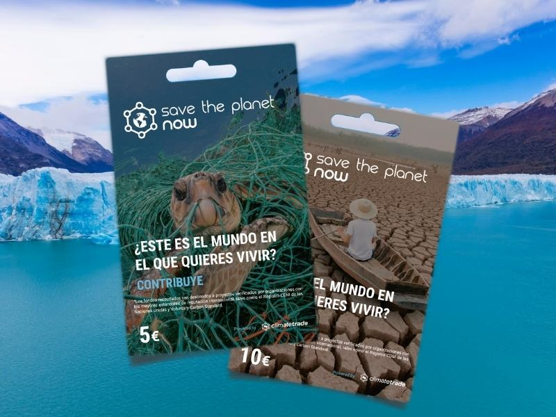 Contribution cards: Save The Planet Now's tool to reduce your carbon footprint