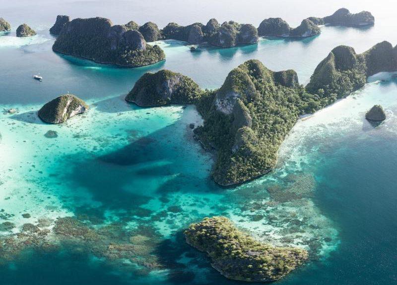 Dos Islas en Indonesia desparecen por el calentamiento global
